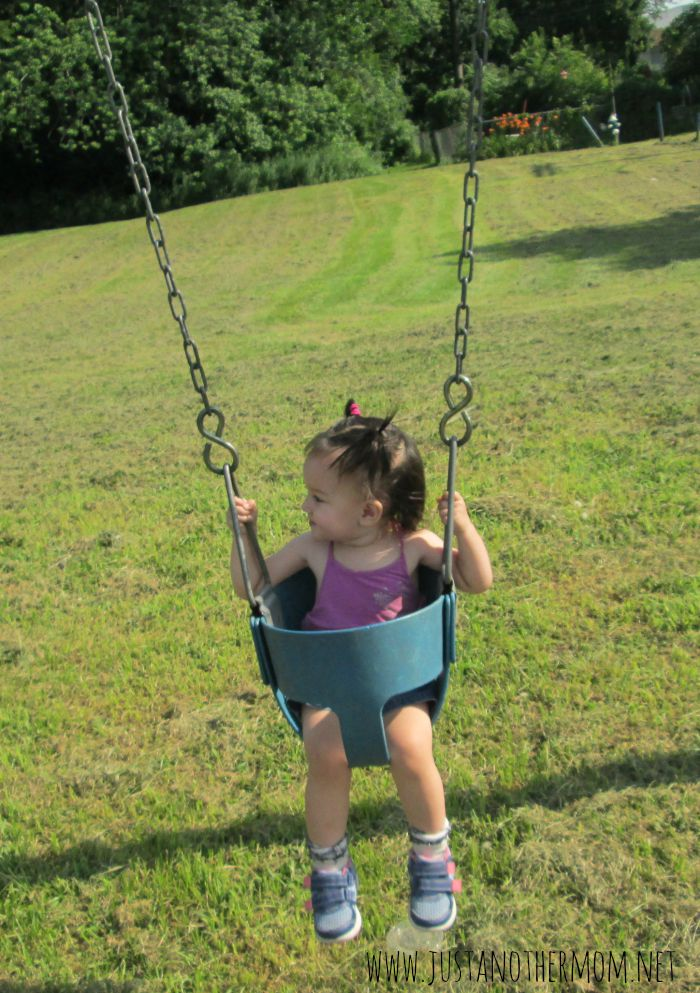 summertime playground safety tips swing