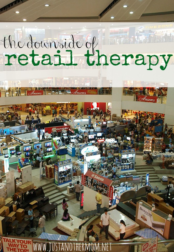 Even though it may seem like a good idea at the time, I think that retail therapy should be avoided. Today I'm talking about the downside of retail therapy and reasons to avoid this method to relieve stress.