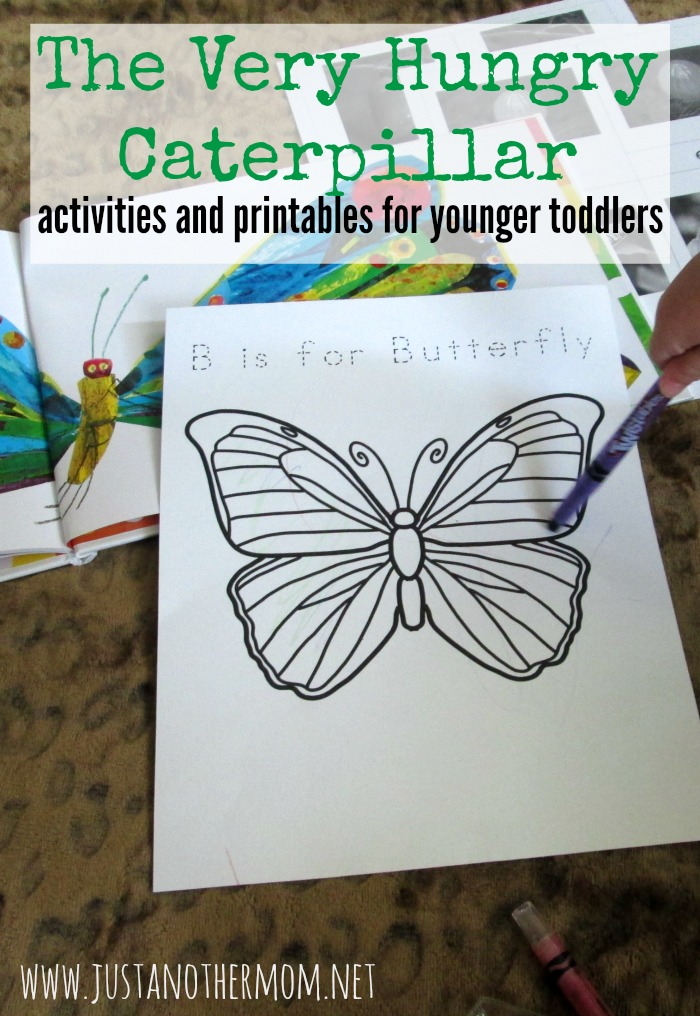 Come explore The Very Hungry Caterpillar by Eric Carle with us in this mini tot school unit. We're also providing free printables for you.