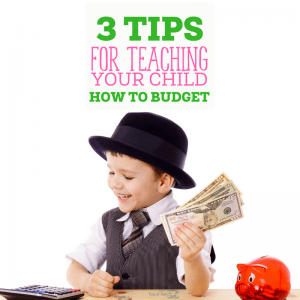 Teaching Your Child to Budget 9