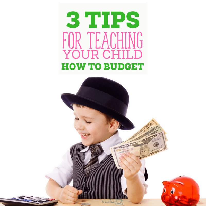 Teaching Your Child to Budget