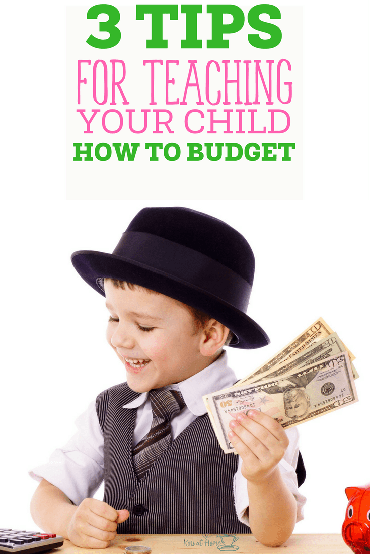 Teaching Your Child to Budget 1