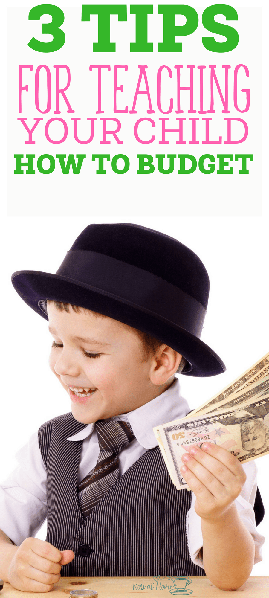 Budgeting is a skill. Here are a few tips for how to teach your child to budget.