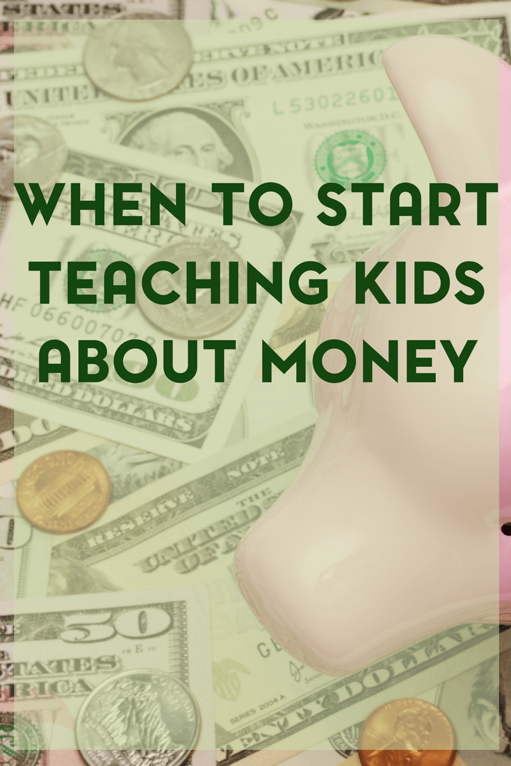 In part three of our series about raising a money savvy kid, we're going to talk about when to teach your child about money. And believe it or not, yes you can and should start young.