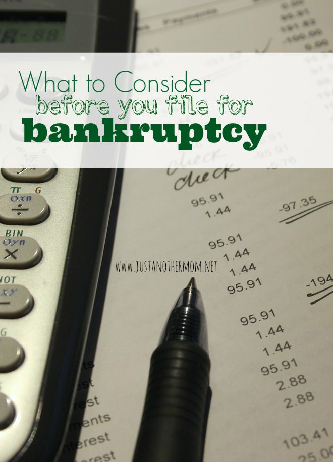 Filing for bankruptcy is often the last step to take when it comes to resolving personal finance issues. Here are some things to consider before you file for bankruptcy.