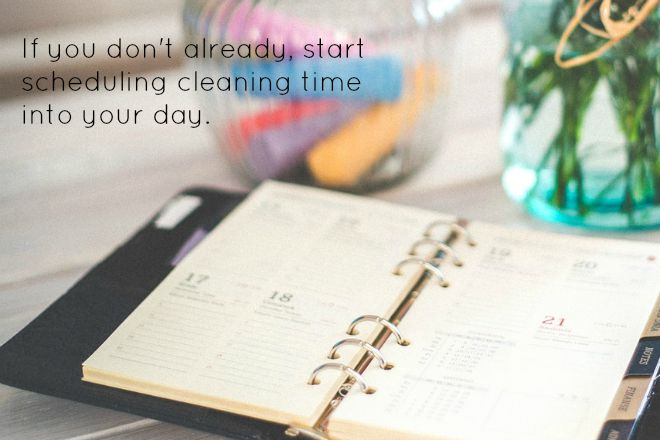 cleaning for clutter