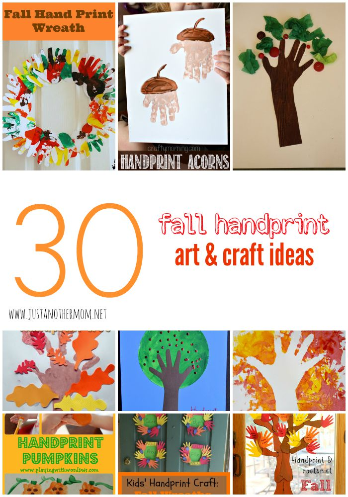 30 Handprint Fall Art And Craft Ideas For Toddlers And