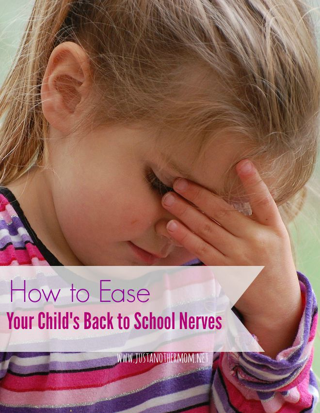 Is your child nervous or anxious about going back to school? Today I'm sharing my tips on motherhood for easing your child's back to school nerves.