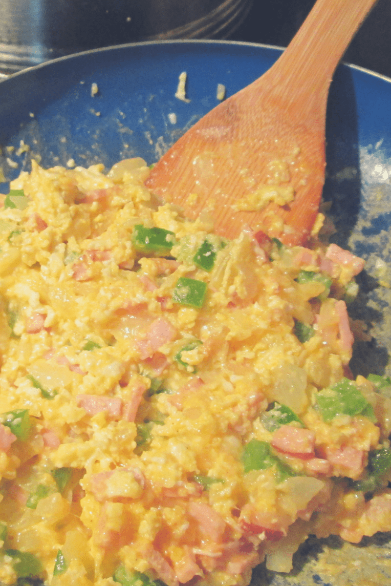 Low Carb Breakfast Scramble 1
