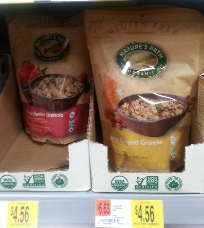 nature's path organic on the shelf ggnoads
