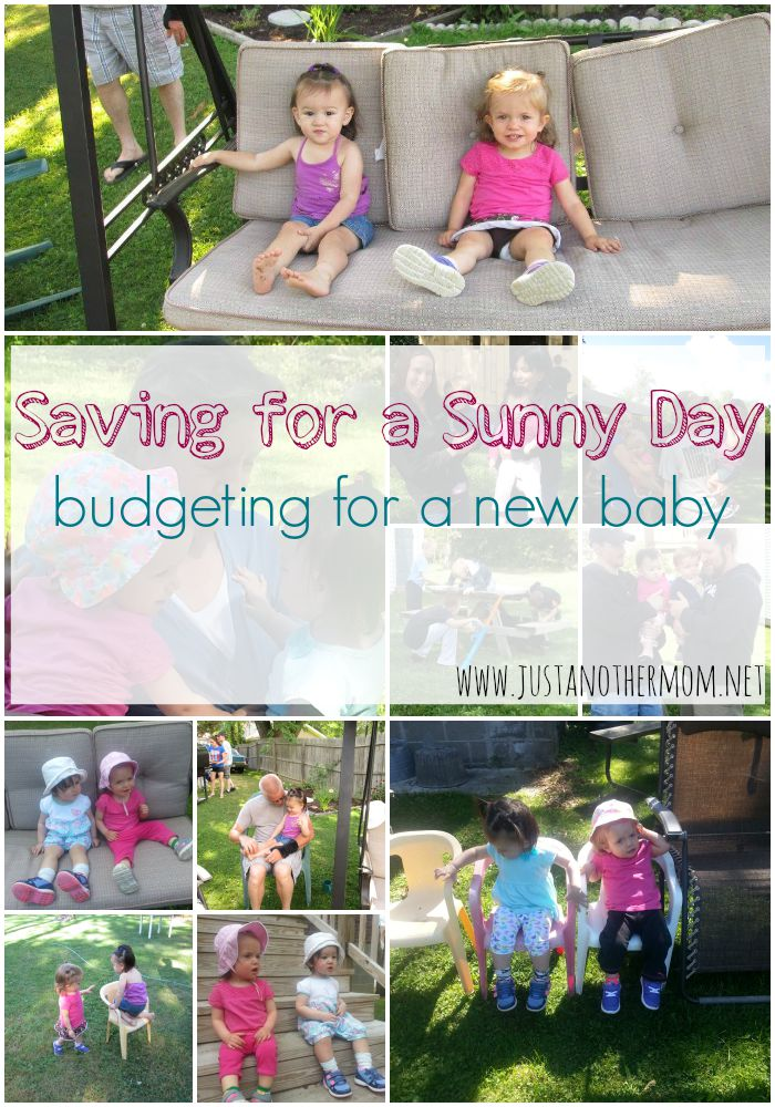 Are you financially ready for a new baby? Today we're going to talk about budgeting for a new baby and other ways that you can start saving for a sunny day.