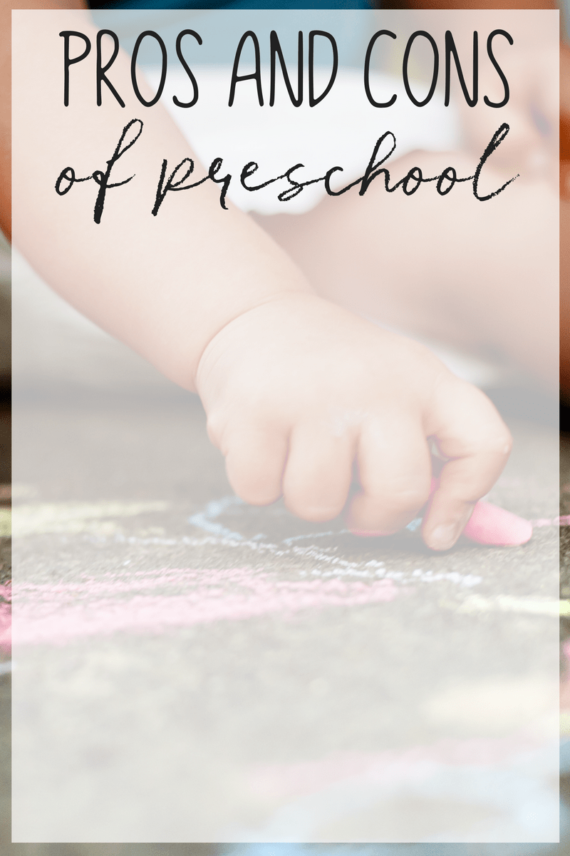 Are you considering sending your child to preschool? Have you considered the pros and cons of preschool?