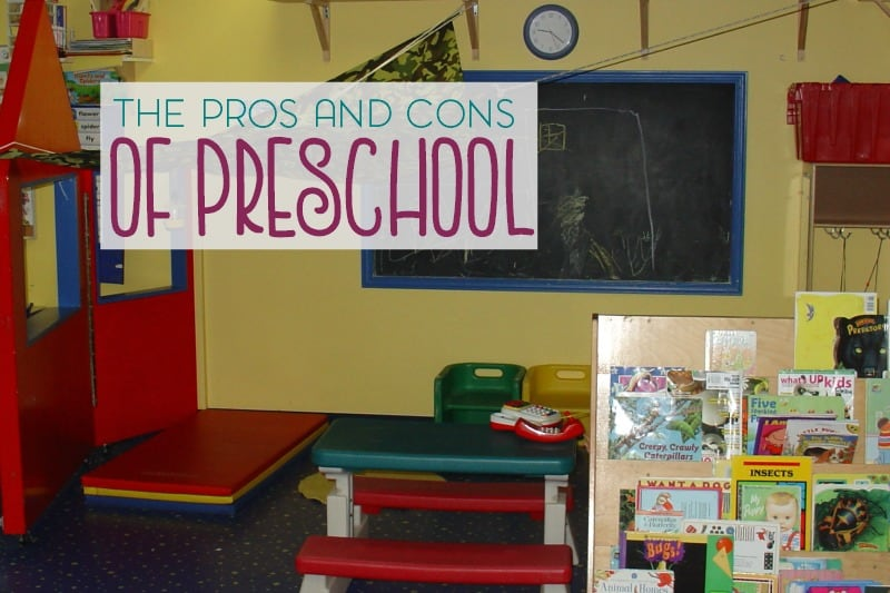 Are you considering sending your child off to preschool when they're ready? Take a look at the pros and cons of preschool.