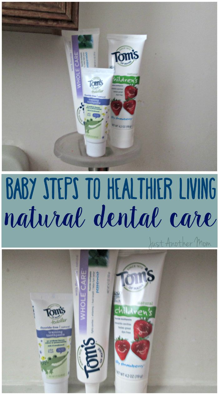 Are you considering leading a more natural lifestyle? Today on Just Another Mom we're sharing easy tips for natural dental care. #NaturalGoodness #Ad