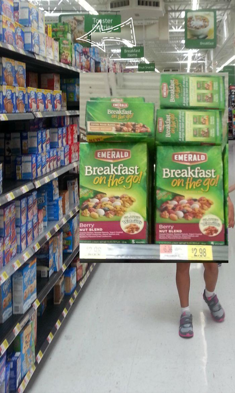 breakfast on the go shelf shot