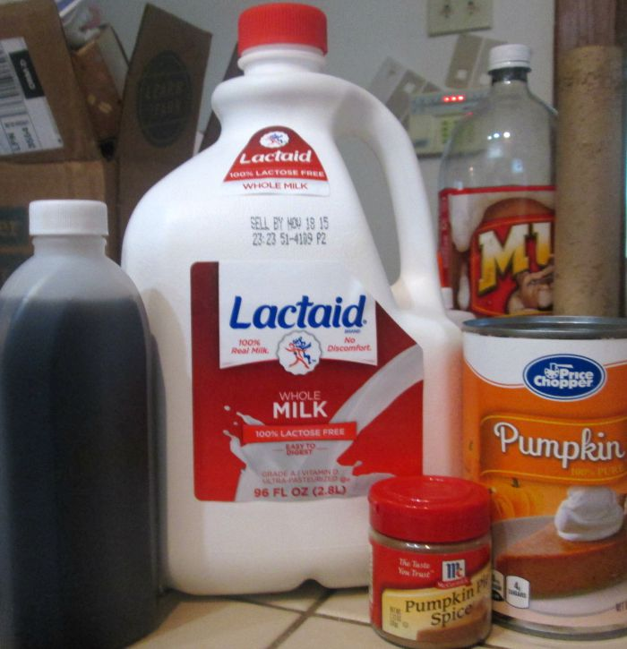 diy pumpkin spice latte ingredients