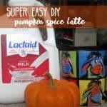 DIY Pumpkin Spice Latte 1