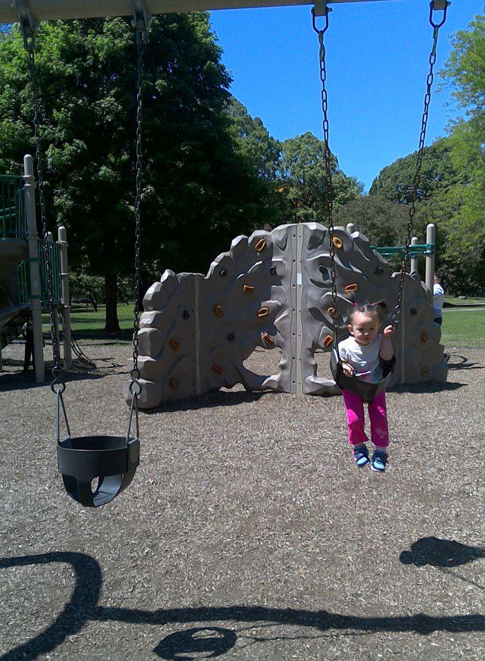 Washington Park in Albany, New York