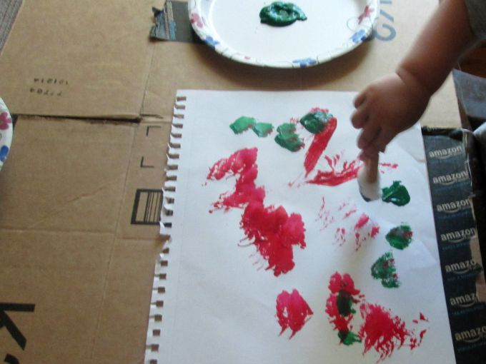 free painting for toddlers 4