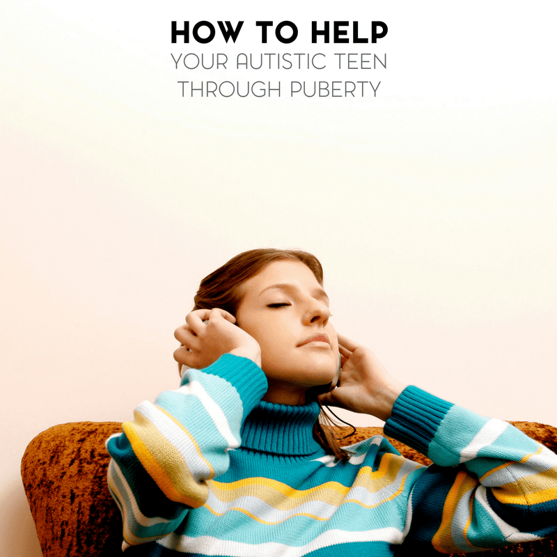 All children grow up. It's part of life. Here's how to help your autistic teen through puberty.