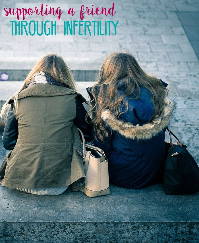 Do you know someone that's struggling with infertility? Here are some tips and advice for supporting a friend through infertility.