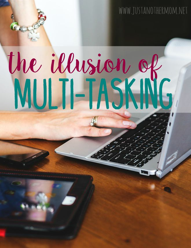 Multitasking makes us think we're being extra productive, but are we really? Or are we just getting caught up in the illusion of multitasking?