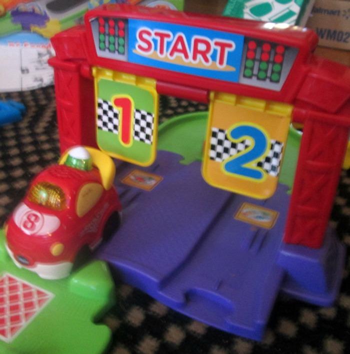 vtech go go racecar start