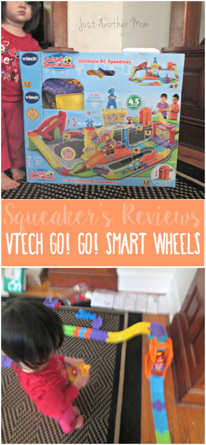 A great gift idea for boys and girls, the VTech Go Go Smart Wheels RC set is a surefire winner for this holiday season.