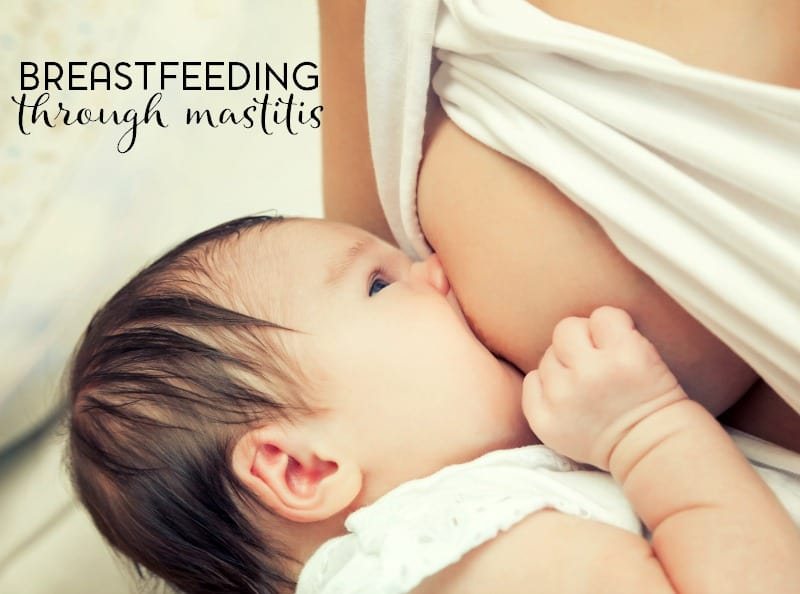 Has a case of mastitis brought your breastfeeding to a halt? Here are a few reasons why you should keep breastfeeding through mastitis.