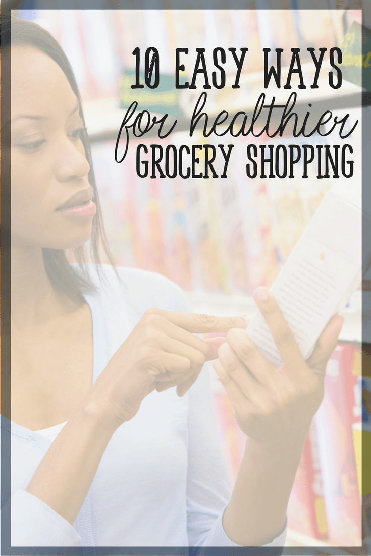 Healthy eating does not have to break your grocery budget! Here are 10 simple tips for healthy grocery shopping on a budget.