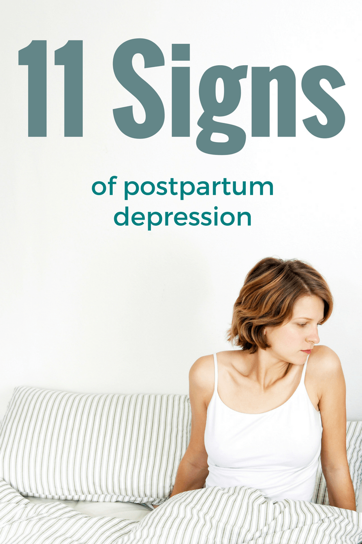 11 Signs and Symptoms of Postpartum Depression 1