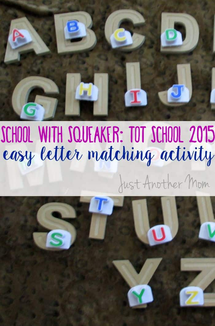 Easy Letter Matching Activity