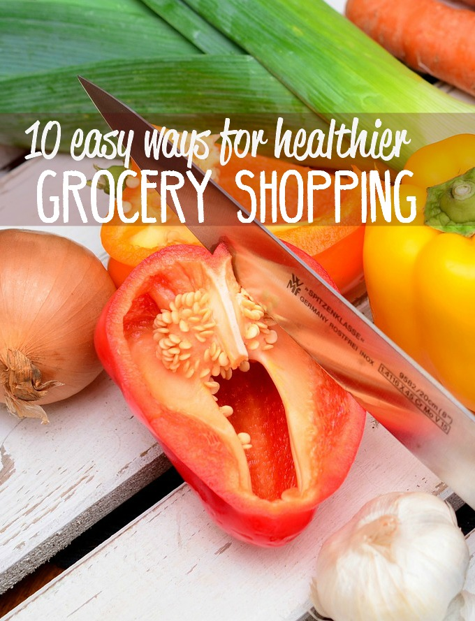 Sometimes I struggle with finding a balance between being frugal and being healthy, especially when it comes to grocery shopping. Here are a few easy ways for healthier grocery shopping that have helped me and can hopefully help you as well.