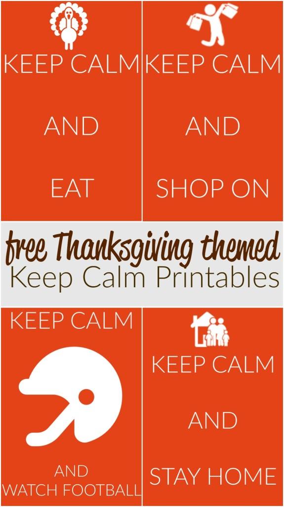free thanksgiving themed keep calm printable