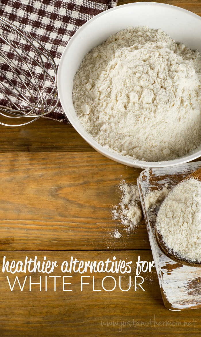As we continue to take steps towards living a healthier lifestyle, one of the areas that I'm focusing on is in the food that we eat and the ingredients we use. Here are a few alternatives for white flour when you're baking.