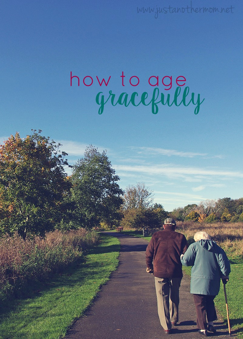 Getting old is a part of life and no matter what we do, we just cannot stop it. But we can learn to accept it and we can learn how to age gracefully.