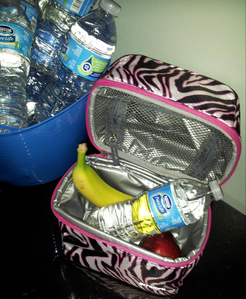 nestle pure life in lunchbox