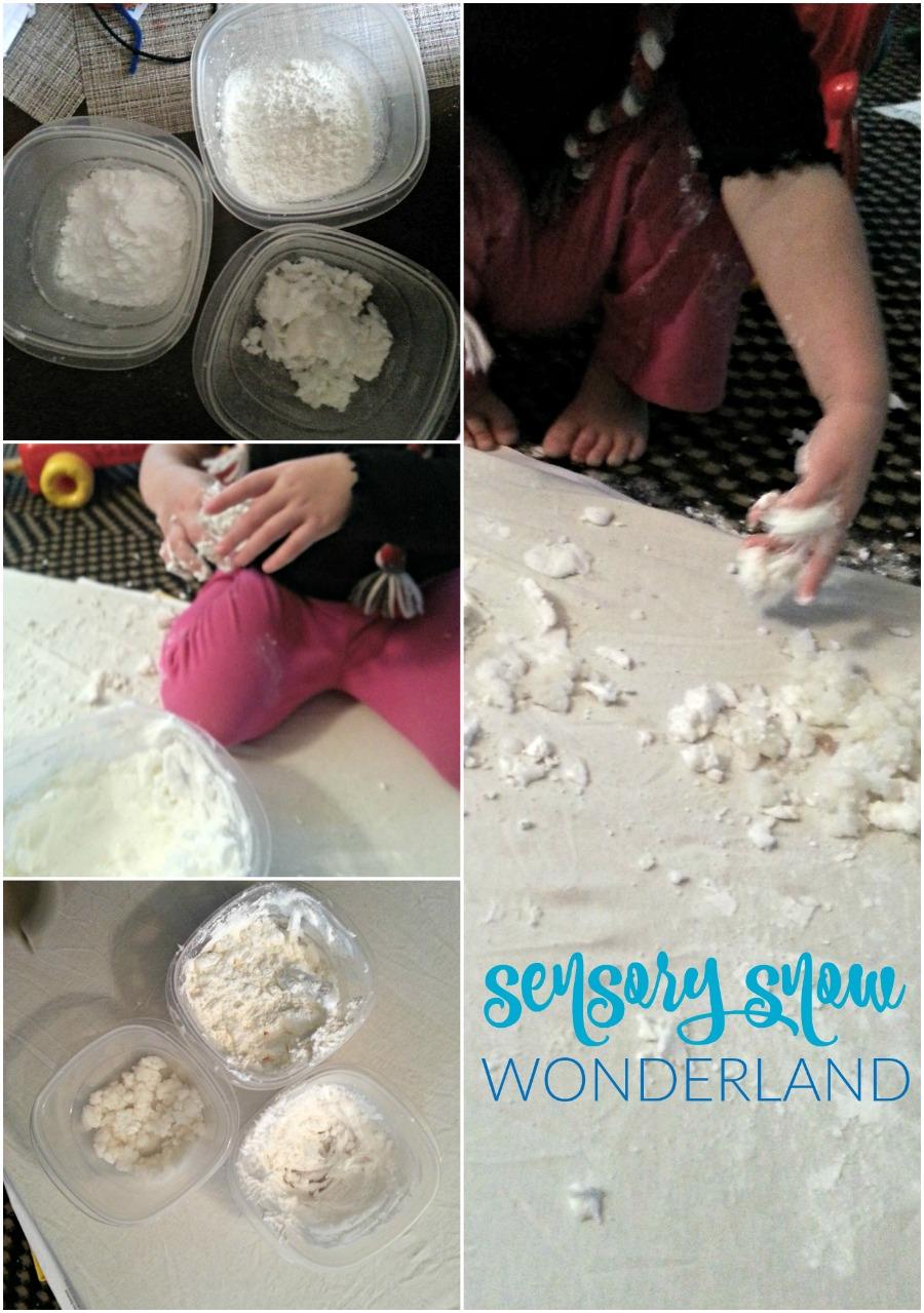 sensory snow wonderland pin