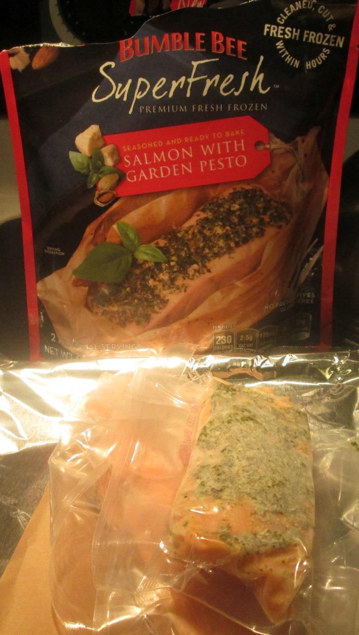spinach and salmon alfredo salmon