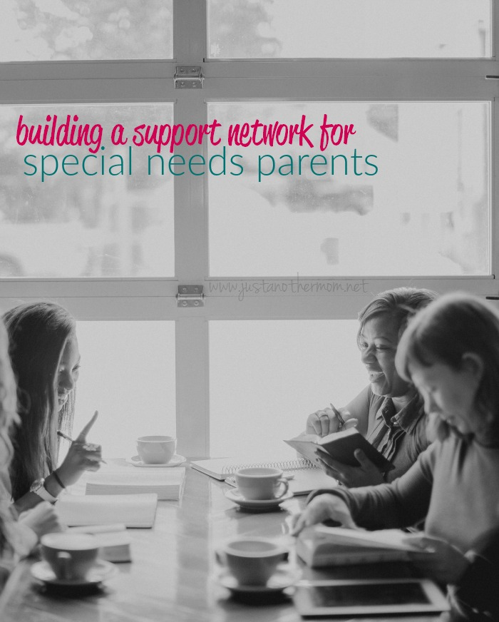 Special needs parenting is not easy. Which is why special needs parents need support. Here are some tips for building up your support network.