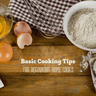 Basic Cooking Tips for Beginners