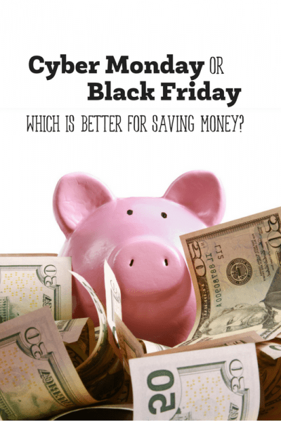 Is Black Friday or Cyber Monday Better?
