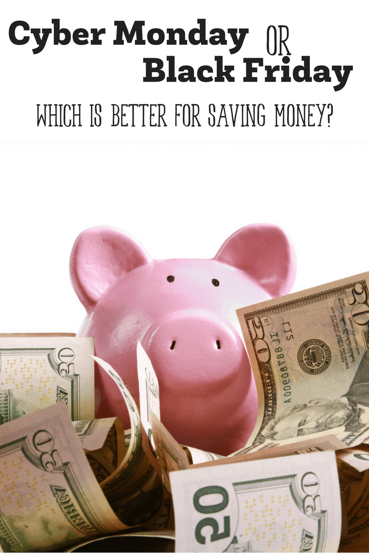 When it comes to saving money during the holidays, every penny counts. So with all of the deals abound on Cyber Monday or Black Friday, which is going to save you more?