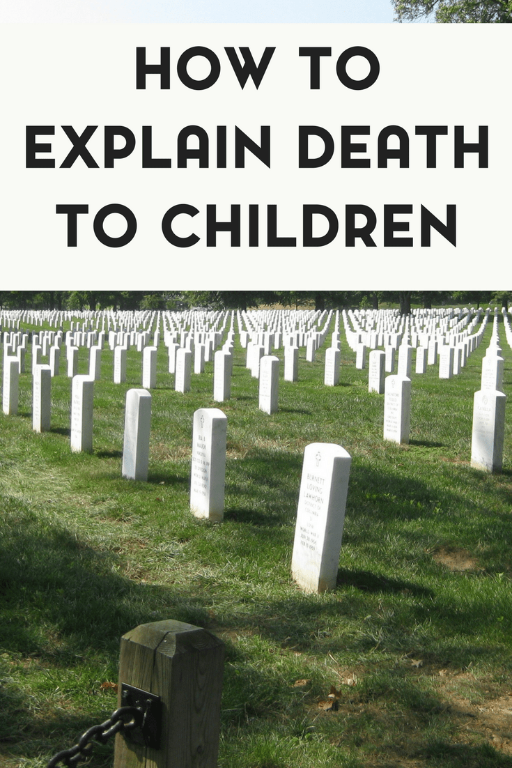 A Sad Goodbye: How to Explain Death to Children