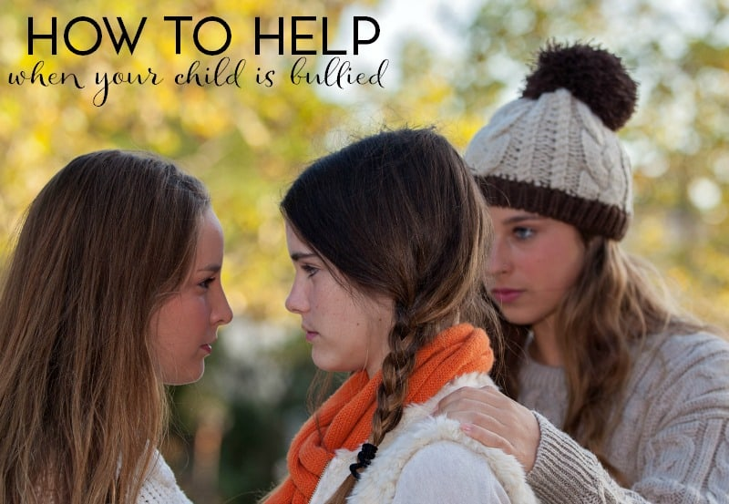 Are you concerned that your child is being bullied at school? Here's how to help as a parent.
