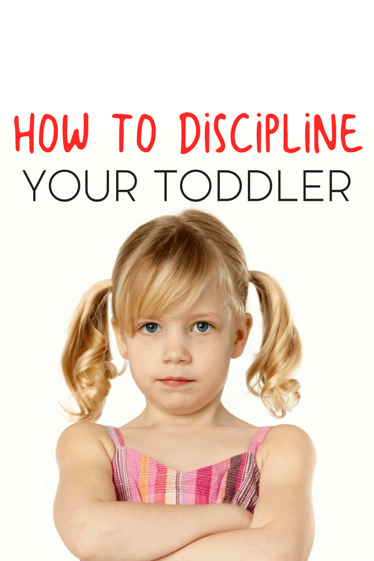Toddlers are stubborn creatures, there's no doubt about that. Here are a few tips for how to discipline your toddler.