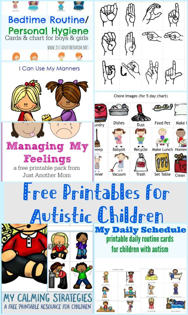 teaching preschoolers with autism free printables for autistic children kori at home 114