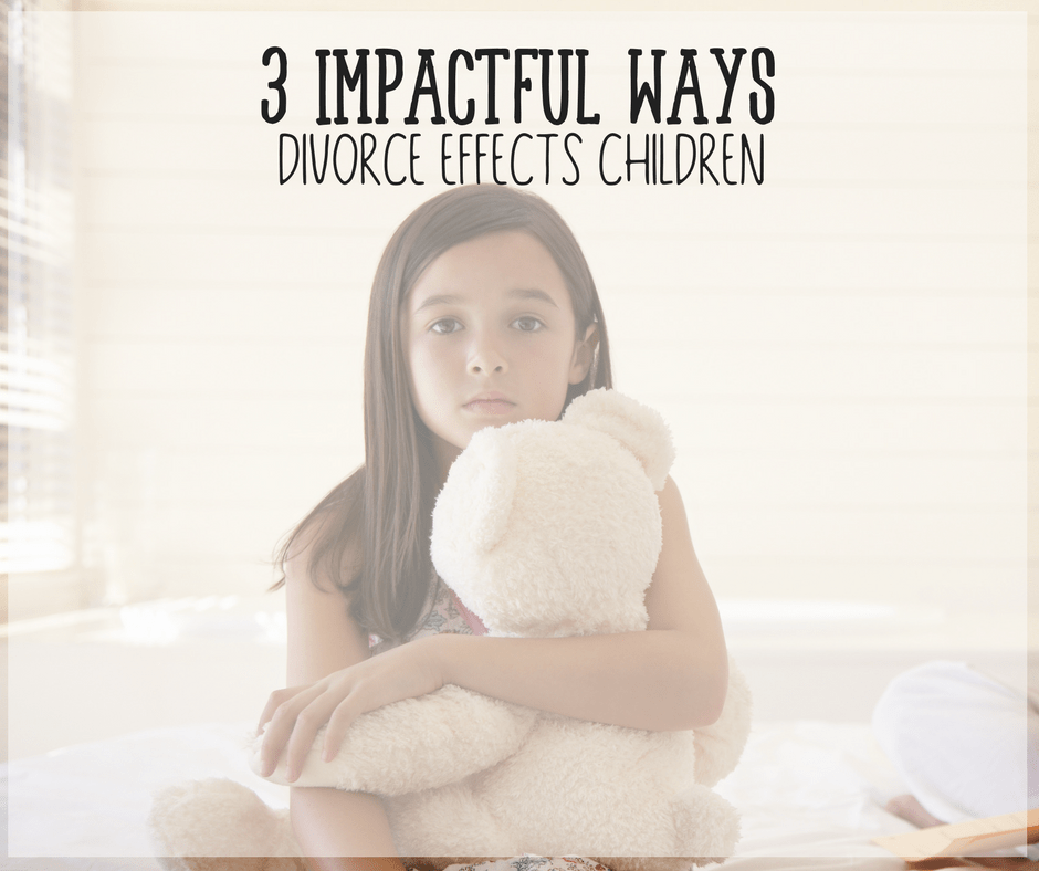 How Divorce Effects Children and Possible Alternatives 1