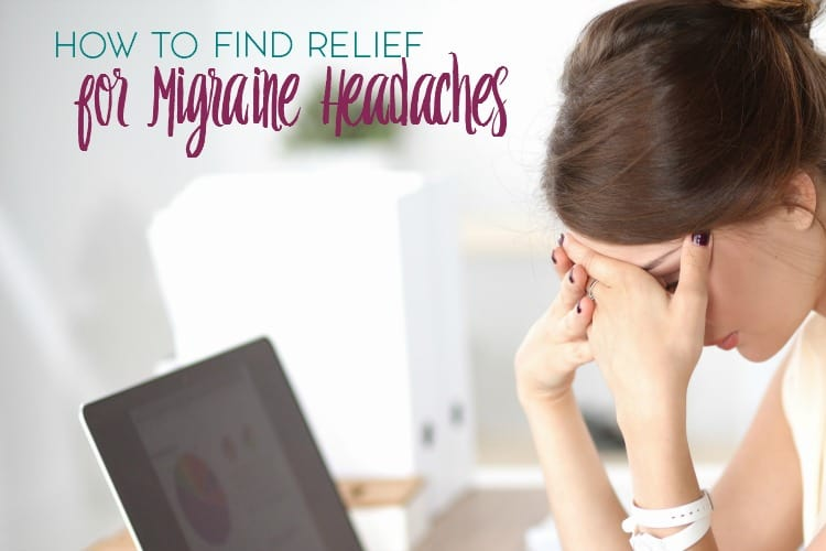 Migraine headaches suck. Here are a few ways to find relief for migraine headaches.