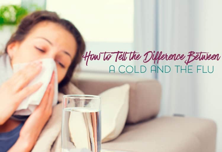 Is it a common cold or is it the flu? Here are some signs and symptoms to look for you so can figure out the difference between the two.